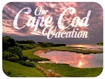 Our Cape Cod Vacation Photo Fridge Magnet