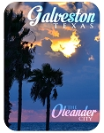 Galveston Texas The Oleander City Photo Fridge Magnet