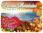 Pocono Mountains Pennsylvania Photo Fridge Magnet