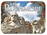 Mt. Rushmore Fridge Magnet