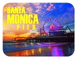 Santa Monica Pier California Fridge Magnet