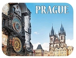 Prague Clock Tower Fridge Magnet