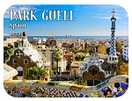 Park Guell Spain Fridge Magnet