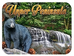 Upper Peninsula Michigan Fridge Magnet