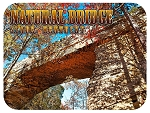 Natural Bridge Slade Kentucky Fridge Magnet
