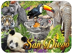 San Diego Zoo Fridge Magnet