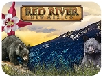 Red River New Mexico Fridge Magnet