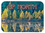 Up North Fridge Magnet