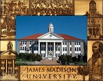 James Madison University Laser Engraved Wood Picture Frame (5 x 7)