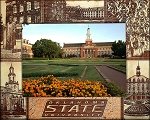 Oklahoma State University Laser Engraved Wood Picture Frame (5 x 7)