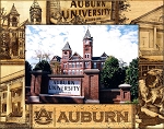 Auburn University Laser Engraved Wood Picture Frame