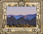 Palm Desert California Laser Engraved Wood Picture Frame (5 x 7)