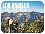 Los Angeles California Hollywood Hill Fridge Magnet