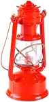 Old Time Red Painted Lantern Die Cast Metal Collectible Pencil Sharpener