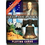 Philadelphia with Liberty Bell Souvenir Playing Cards