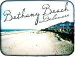 Bethany Beach Delaware Fridge Magnet