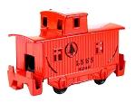 Old Time Red Caboose Die Cast Metal Collectible Pencil Sharpener