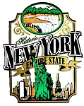 Historic New York the Empire State Fridge Magnet