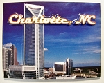 Charlotte North Carolina Fridge Magnet Design 10