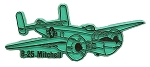 Army Air Force B-25 Mitchell Fridge Magnet