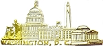 Washington D.C. Souvenir Fridge Magnet
