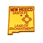 New Mexico Land of Enchantment Fridge Magnet