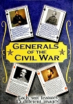 Generals of The Civil War Souvenir Playing Cards