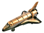 Space Shuttle Die Cast Metal Collectible Pencil Sharpener
