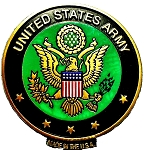 United States Army Seal Fridge Magnet