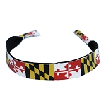 Maryland Flag Neoprene Sunglass Strap