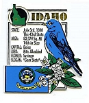 Idaho The Gem State Montage Fridge Magnet