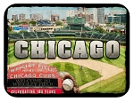 Chicago Wrigley Field Fridge Magnet