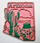 Arizona Phoenix United States Fridge Magnet Design 3