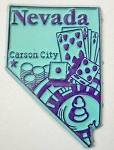 Nevada Carson City United States Fridge Magnet