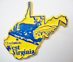 West Virginia Fridge Magnet Design 3