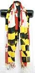 Maryland Flag Scarf Design 10