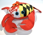 Maryland Crab with Maryland Flag Design 4