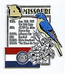 Missouri The Show-Me State Montage Fridge Magnet Design 5