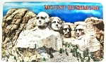 Mount Rushmore Artwood Fridge Magnet Design 1