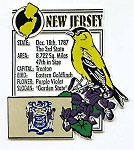 New Jersey The Garden State Montage Fridge Magnet