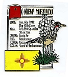 New Mexico The Land of Enchantment State Montage Fridge Magnet Design 5