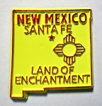 New Mexico State Outline Fridge Magnet Design 10