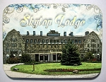 Old Skytop Lodge Pennsylvania Photo Fridge Magnet Design 26