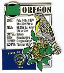 Oregon Square Montage Fridge Magnet Design 5