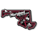 Maryland Premium State Map Magnet