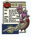 South Dakota Square Montage Fridge Magnet Design 5