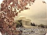 Thomas Jefferson Memorial Photo Fridge Magnet