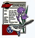 Tennessee Square Fridge Magnet
