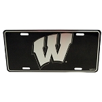 Wisconsin Badgers Elite License Plate-NCAA