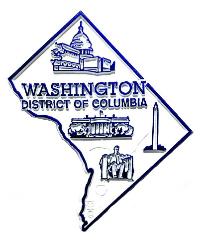 Washington DC Fridge Magnet